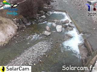 Webcam pêche Le Drac à Pont du Fossé - SolarCam: caméra solaire 3G. - via france-webcams.com