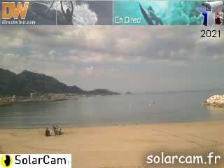 Webcam Marseille - Epluchures - SolarCam: caméra solaire 3G. - via france-webcams.com