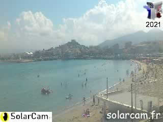 Webcam Marseille - Pointe Rouge 3 - SolarCam: caméra solaire 3G. - via france-webcams.com