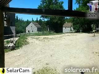 Webcam Mas de la Barque - Village de gites fr - SolarCam: caméra solaire 3G. - via france-webcams.com