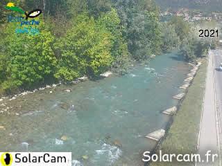 Webcam pêche Durance Briançon - SolarCam: caméra solaire 3G. - via france-webcams.com
