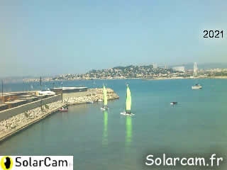 Webcam Marseille - Pointe Rouge - SolarCam: caméra solaire 3G. - via france-webcams.com