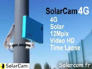 Webcam SolarCam - Caméra 4G autonome solaire sans maintenance, très long terme. - via france-webcams.com