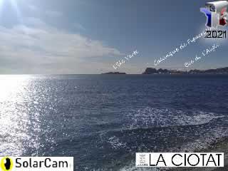 Webcam La Ciotat - SolarCam: caméra solaire 4G. - via france-webcams.com