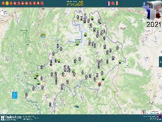 Les webcams routières des Hautes-Alpes - via france-webcams.com