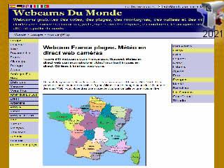 Webcam France plages. Météo en direct web caméras - via france-webcams.com